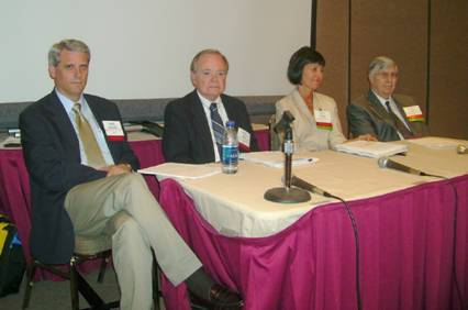 (L to R) SATRO panelists Williams, Porter, Vannoni and Bogardus